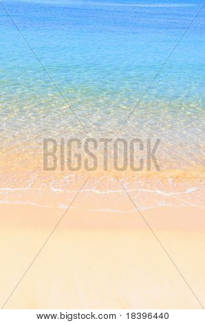 Beach and ocean background