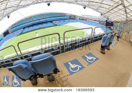 SYDNEY AUSTRALIA - NOVEMBER 26: Olympic stadium Sydney, arena for the Olympics of the year 2000, Sydney, November 26, 2009