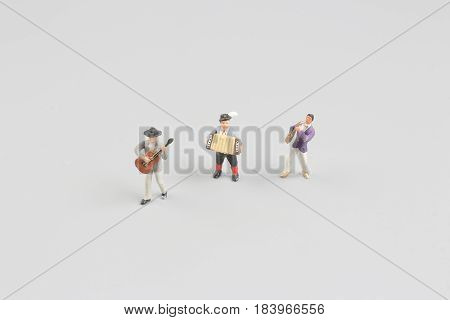 Fun Of Figure In Mini Music World