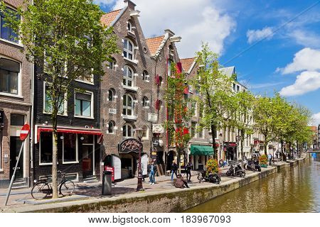On The Streets Of Amsterdam City, Netherlands