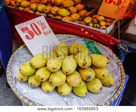 Local Market In Manila, Philippines