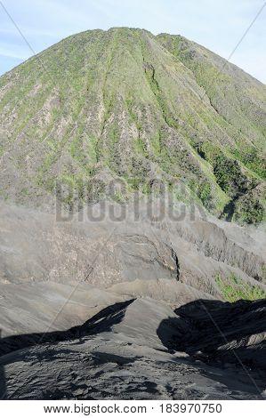 Vulcano Mount Bromo Located In Bromo Tengger Semeru National Park