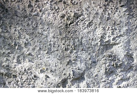 Massive old dirty concrete wall, texture background, close-up