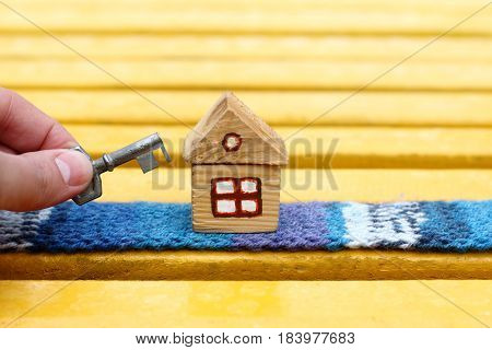 key to comfortable living in an individual house / idea of warm floors