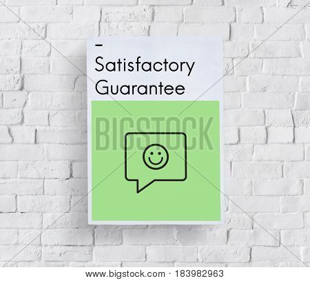 Rating Customer Service Satisfaction Happy Icon Sign