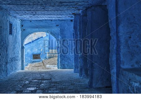 The beautiful medina of Chefchaouen, the blue pearl of Morocco