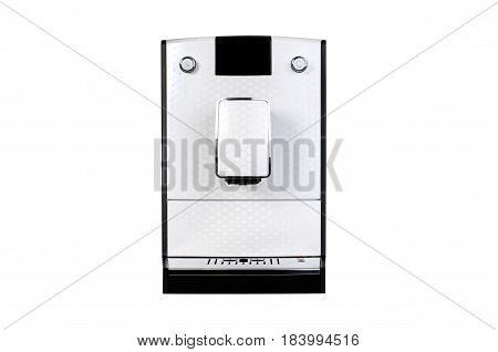 Coffee maker isolated front texture for your object. coffee maker isolated machine texture object 3d front concept