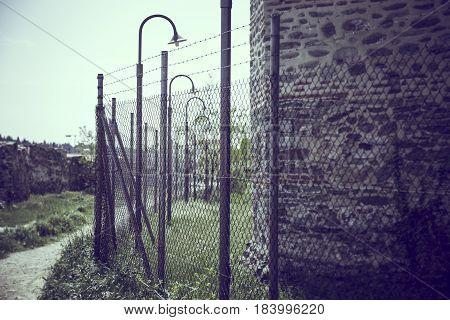 old jail inside the Yedi Koule fortress, Thessaloniki
