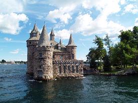 BOLDT CASTLE, 1000 ISLANDS NY