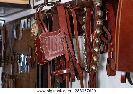 Pieces Of Leather That Are Used For Horses