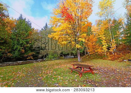 Michigans Upper Peninsula Has Beautiful Fall Colors And Numerous Recreational Areas To Be Enjoyed