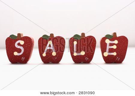 Wooden Apples