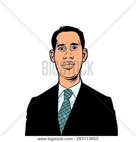 Caracas, Venezuela - 9 February 2019: Portrait Of Juan Guido, President Of Venezuela, Interim Presid