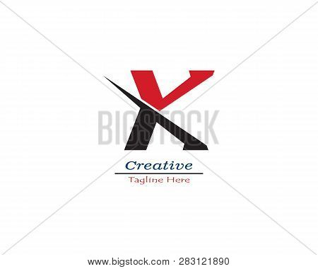 Yk Initial Logo Company Name Template Design