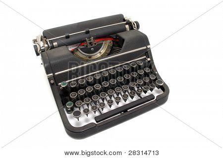 vintage typing machine