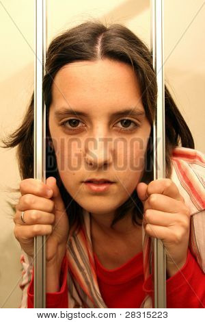 sexy girl prisioner