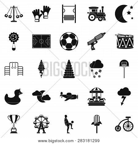 Court Icons Set. Simple Set Of 25 Court Icons For Web Isolated On White Background
