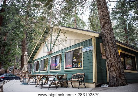 May 15 2018 - Lone Pine, California: The Whitney Portal Store, Located Up Whitney Portal Road Sells