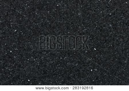 Black Granite Texture For Backgrounds And Overlays.