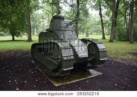 M1917 Light Tank On Display At The First Division Museum, Cantigny Park, Wheaton, Il September 1, 20