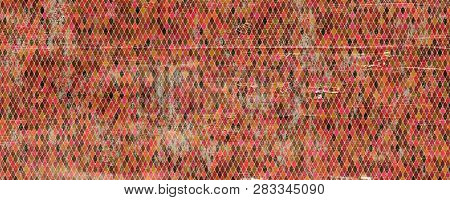 Fantastic Abstract Grunge Panorama Background Design Illustration