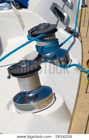 Yacht Deck Rigging