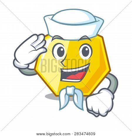 Sailor Heptagon In The A Cartoon Shape