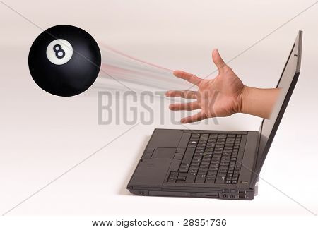Eight Ball and Computer