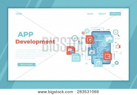 Mobile App Vector & Photo (Free Trial) | Bigstock