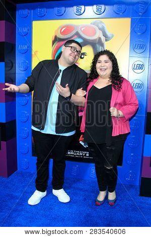 LOS ANGELES - FEB 2:  Rico Rodriguez, Raini Rodriguez at