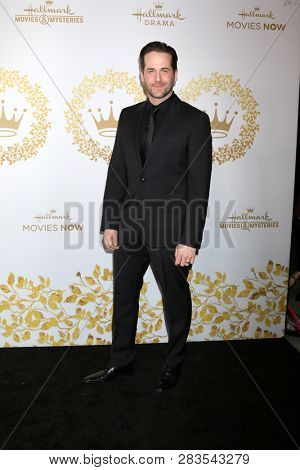 LOS ANGELES - FEB 9:  Niall Matter at the Hallmark Winter 2019 TCA Event at the Tournament House on February 9, 2019 in Pasadena, CA