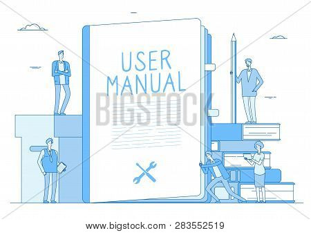 User Manual. People With Guidance Guided Textbook. User Reading Guidebook And Writing Technical Inst