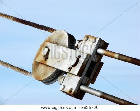 High Tension Steel Pulley