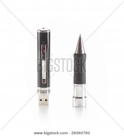 Usb Spy Pen With Internal Memory