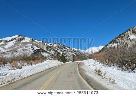 Winter Wonderland At La Plata Canyon In Durango