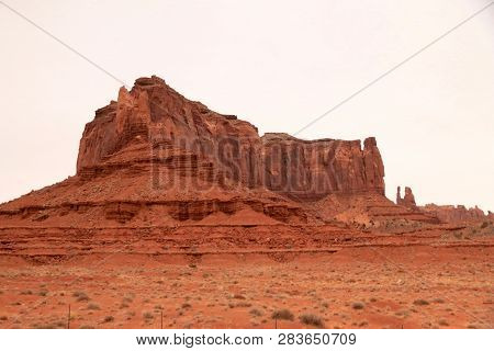 Rock Formations At Valley Of The Gods