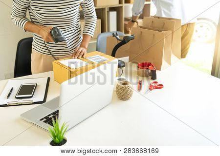 Prepare Product In The Box For Send To Customer