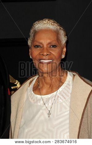LOS ANGELES - FEB 10:  Dionne Warwick at the 61st Grammy Awards at the Staples Center on February 10, 2019 in Los Angeles, CA