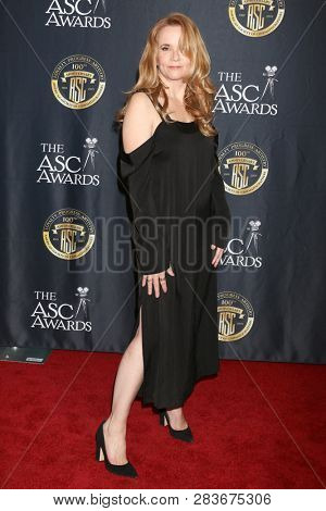 LOS ANGELES - FEB 9:  Lea Thompson at the 33rd Annual American Society Of Cinematographers Awards at the Dolby Ballroom on February 9, 2019 in Los Angeles, CA