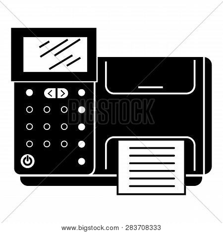 Cash Machine Icon. Simple Illustration Of Cash Machine Vector Icon For Web Design Isolated On White