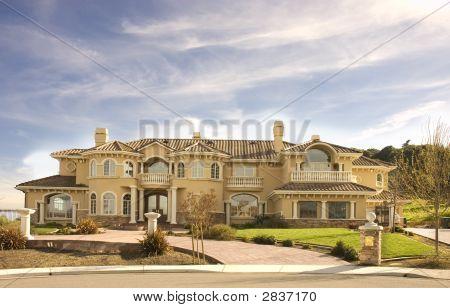 Custom Mansion In Hills
