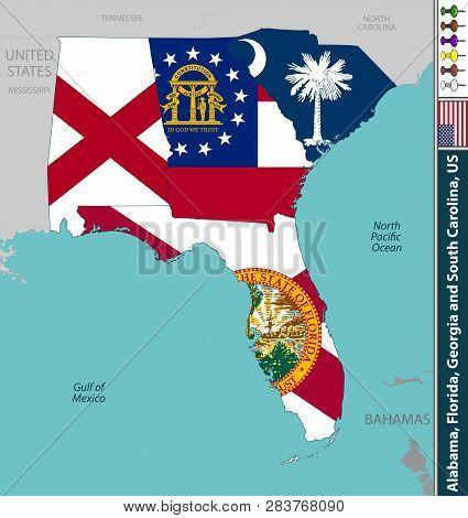 Vector States Alabama Vector & Photo (Free Trial)   Bigstock