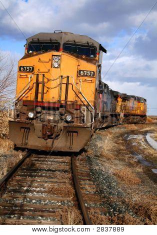 Rural Railroad Scene 3