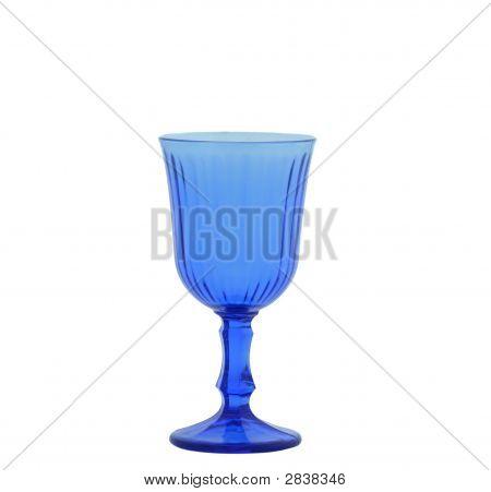 Blue Wineglass