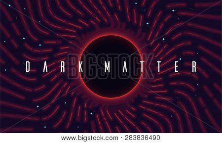 Illustration Of A Hypothetical Form Of Dark Matter