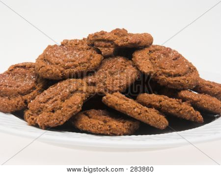 Serving Of Cookies (close Perspective)