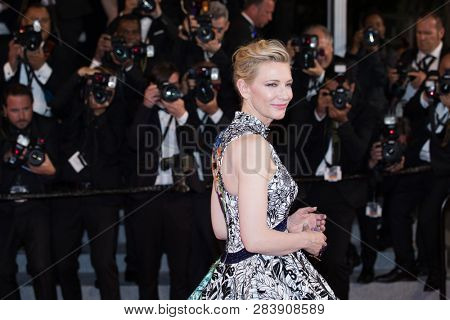 CANNES, FRANCE - MAY 10: Jury President Cate Blanchett attends the screening of Cold War during the 71st Cannes Film Festival at Palais des Festivals on May 10, 2018 in Cannes, France