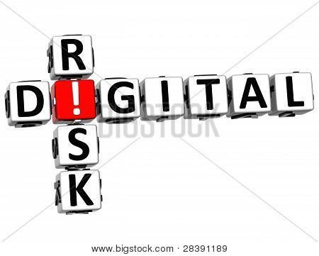 3D Digital Risk Crossword
