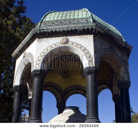 German Fountain, Istanbul Turkey