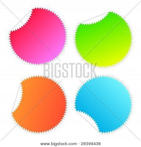 Sticker Stars Colours